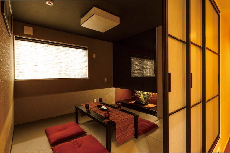 木と石のナチュラルモダンの家 ホテルのような高級感ある暮らしの写真4